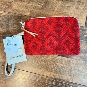 FREE PEOPLE Mercado Global Selvedge Pouch